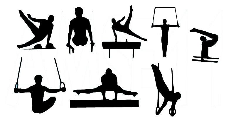 Gymnastics clipart vault free images 2