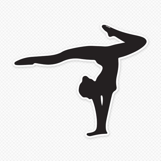 Gymnastics clipart vault free images