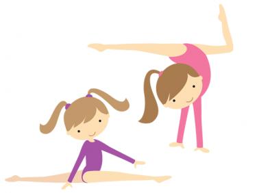 Gymnastics gymnastic graphics clipart