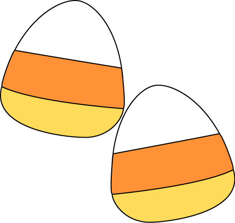 Halloween candy corn clipart free images 2