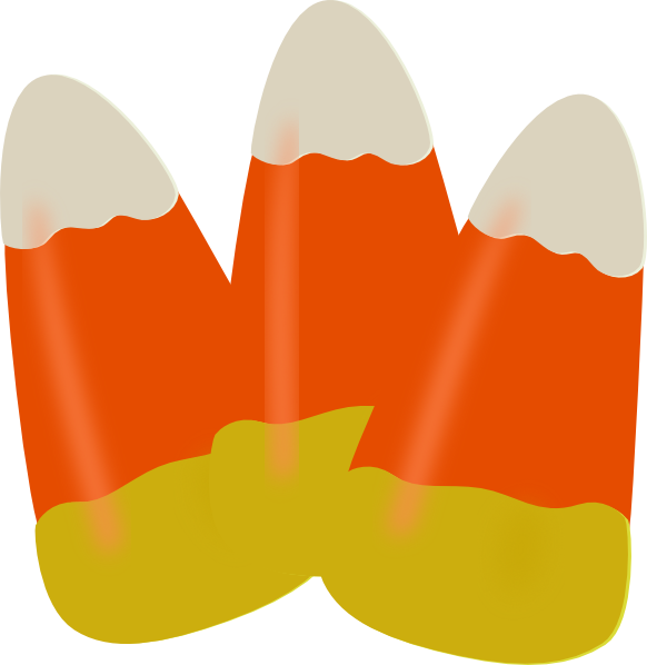 Halloween candy corn clipart free images 3
