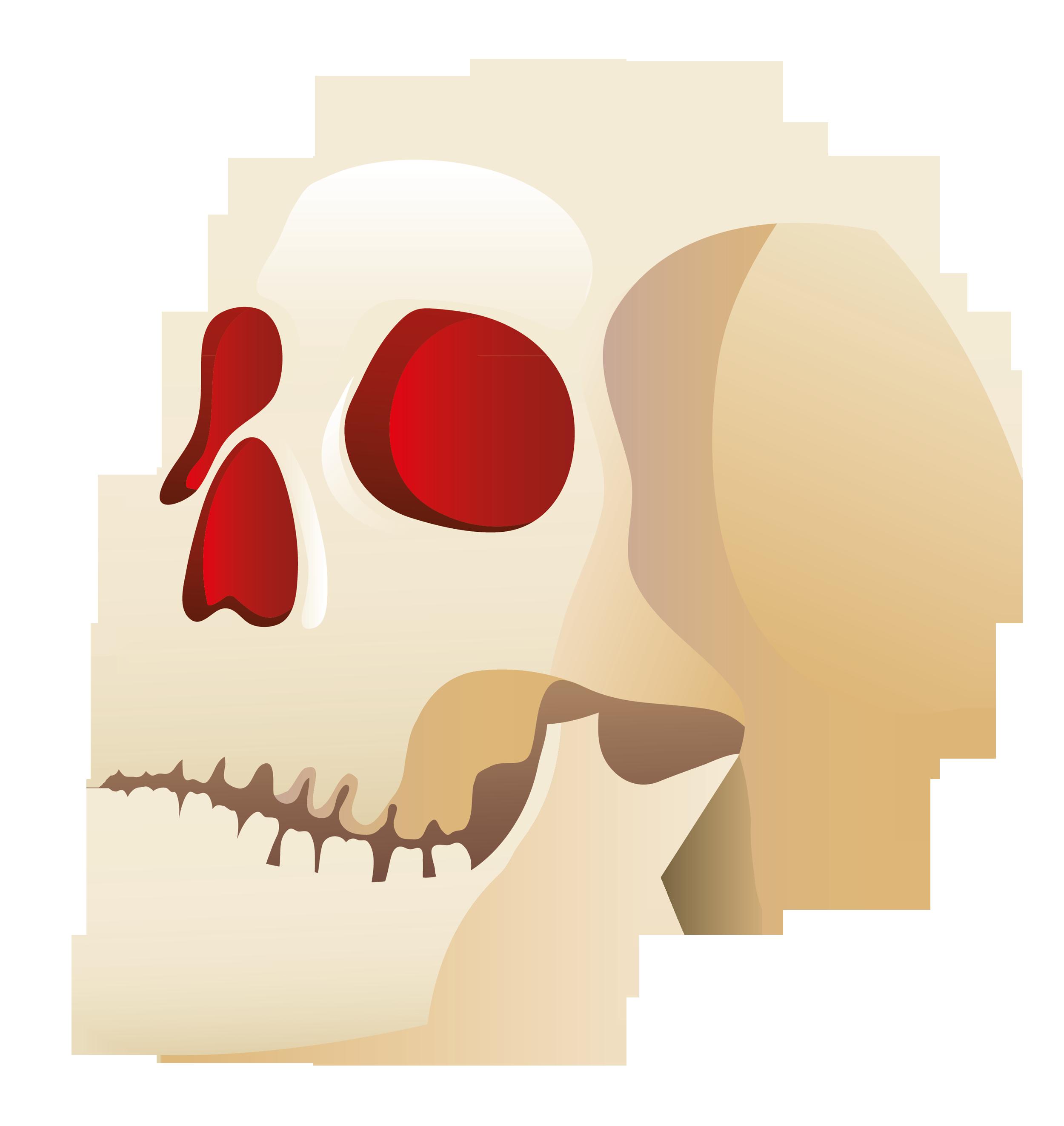 Halloween skull clipart 0