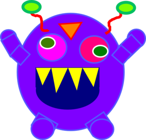 Happy monster clipart free images 2