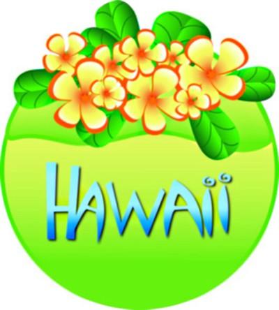 Hawaiian flower tropical free hawaiian clip art flower luau