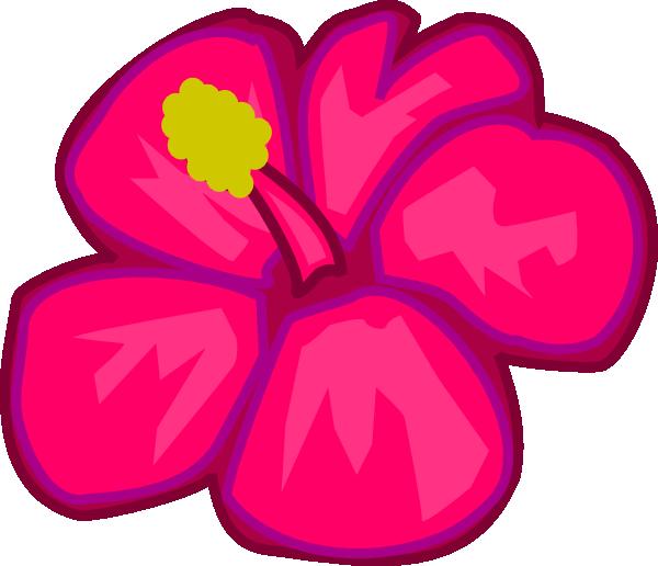 Hawaiian flowers clip art hostted