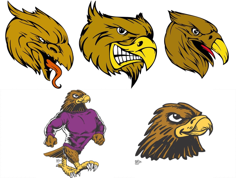 Hawk clipart 10