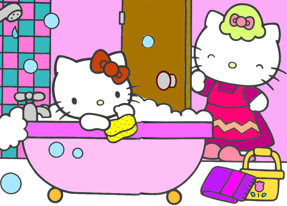 Hello kitty clip art 6