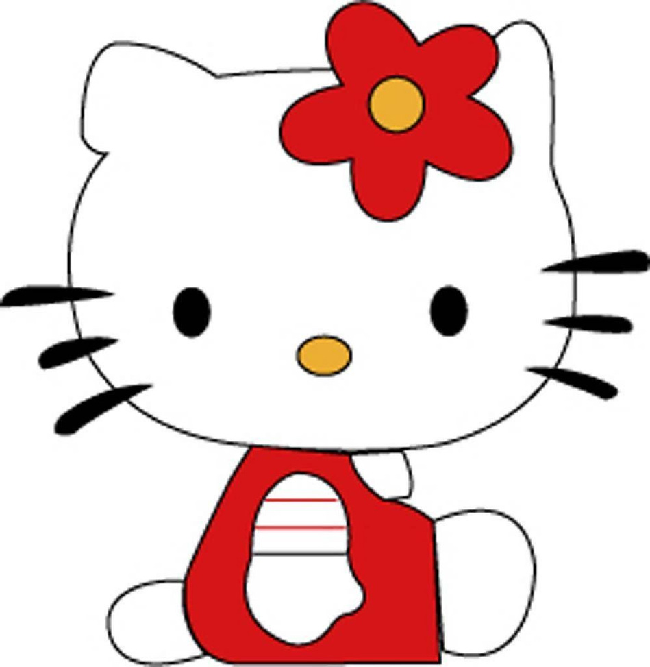 Hello kitty clip art clipart free to use resource 2