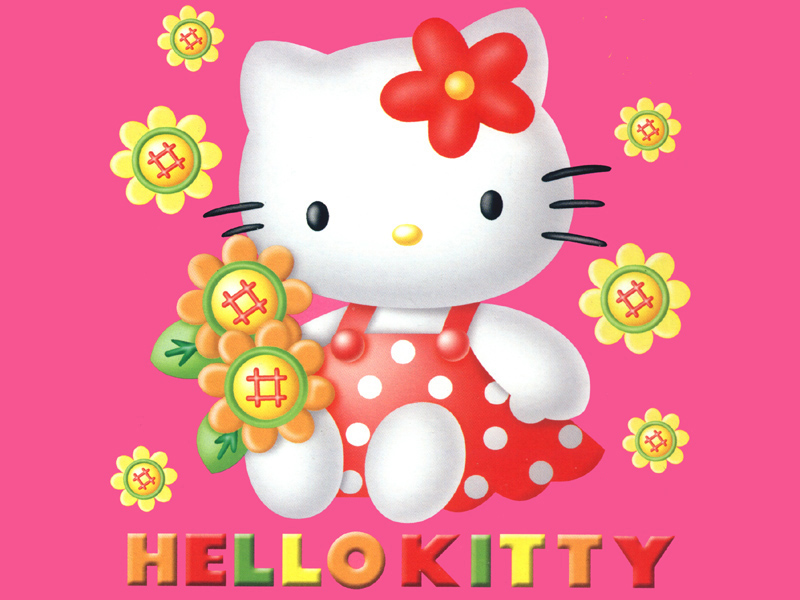 Hello kitty clipart 6