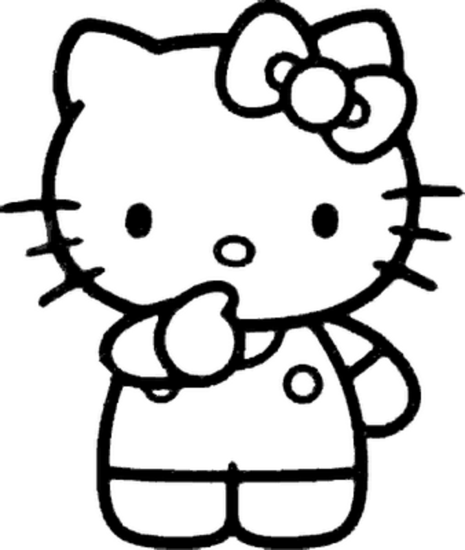 Hello kitty clipart 7