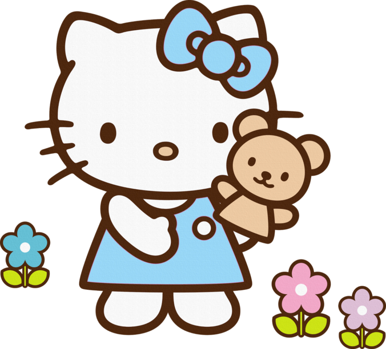 Hello kitty flower clipart - WikiClipArt