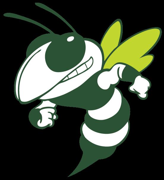 Hornet black and white clipart