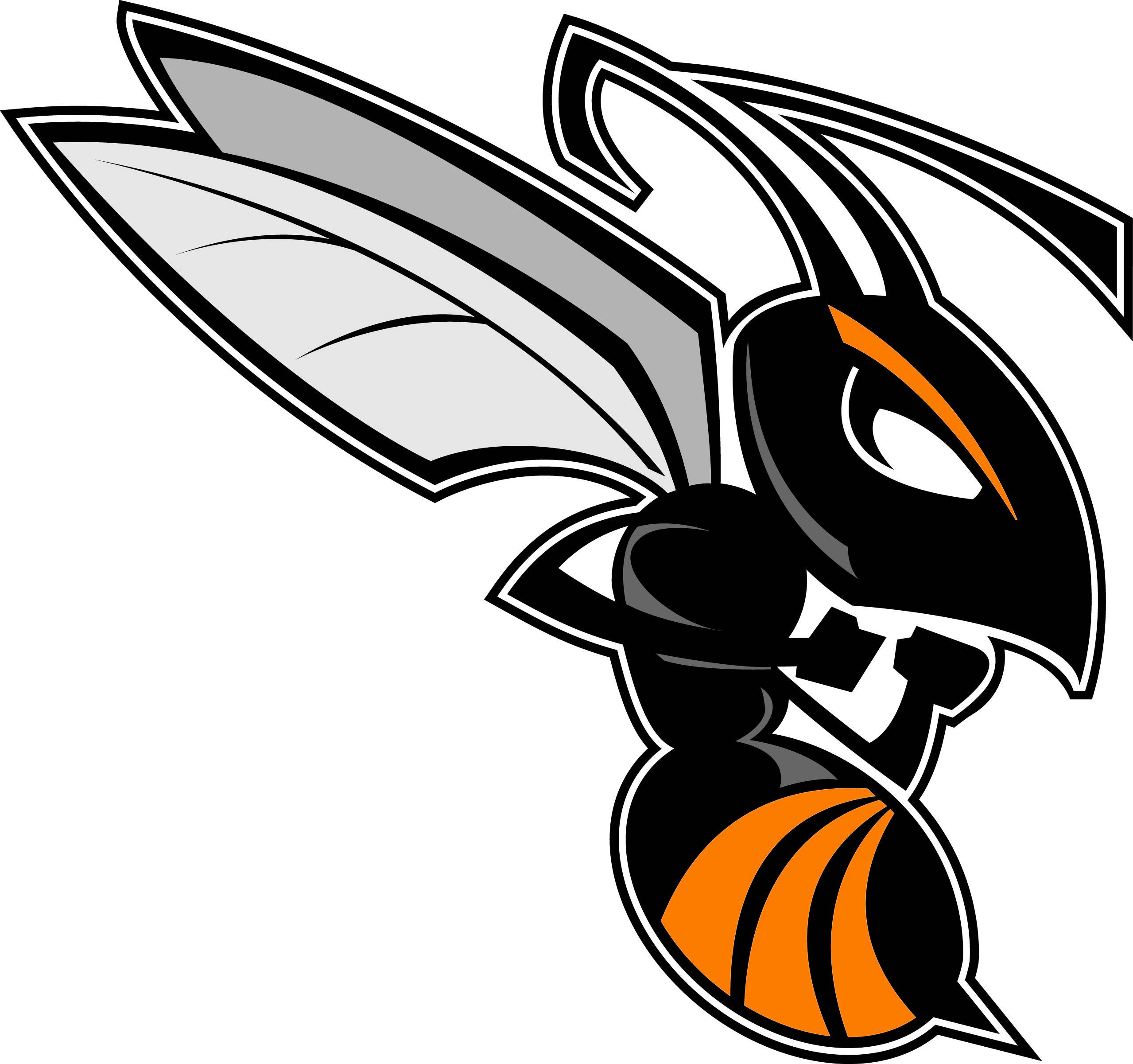 Hornet logo clipart