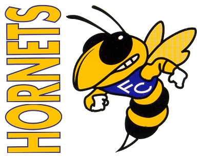 Hornet mascot clipart 5
