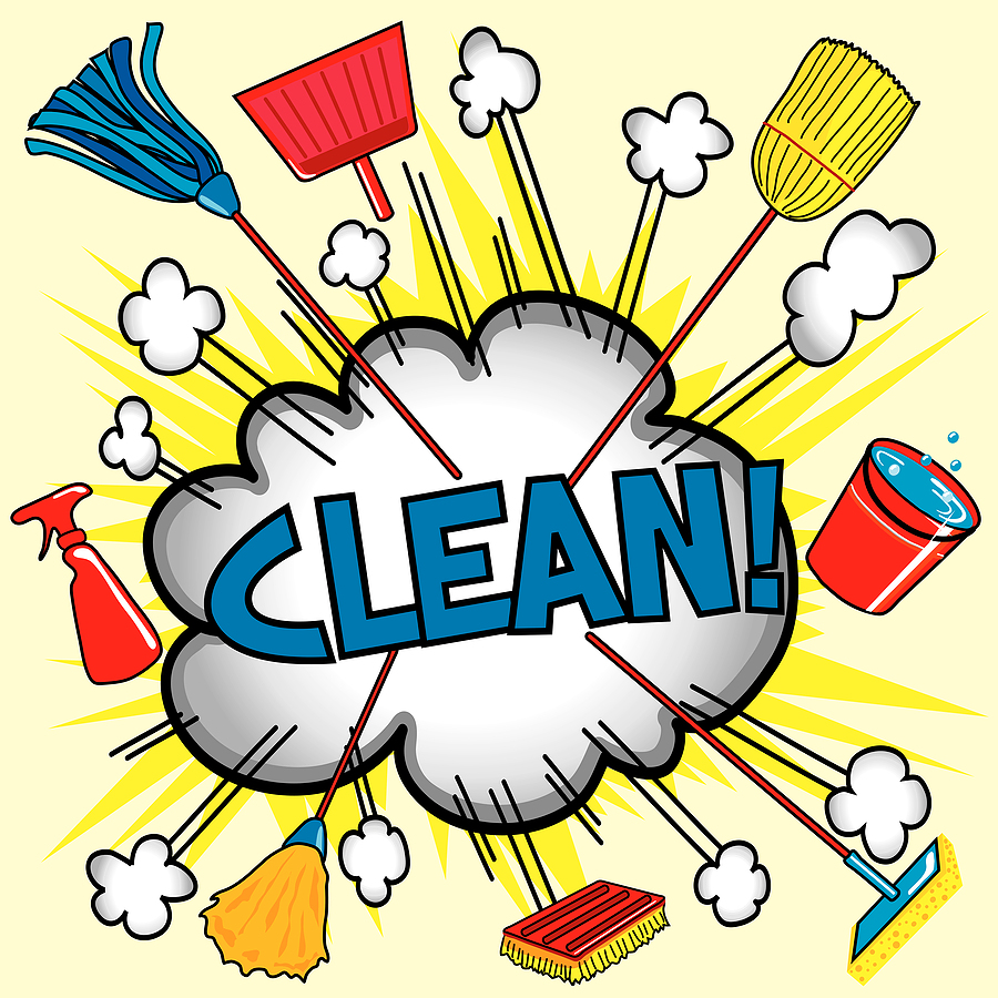 Household chores pictures clipart