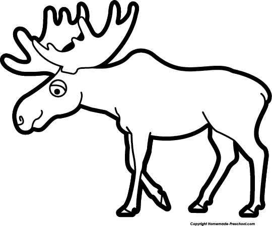 Image of moose clipart 9 clip art images free for
