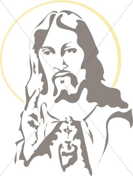 Jesus clipart clip art graphics images sharefaith 6