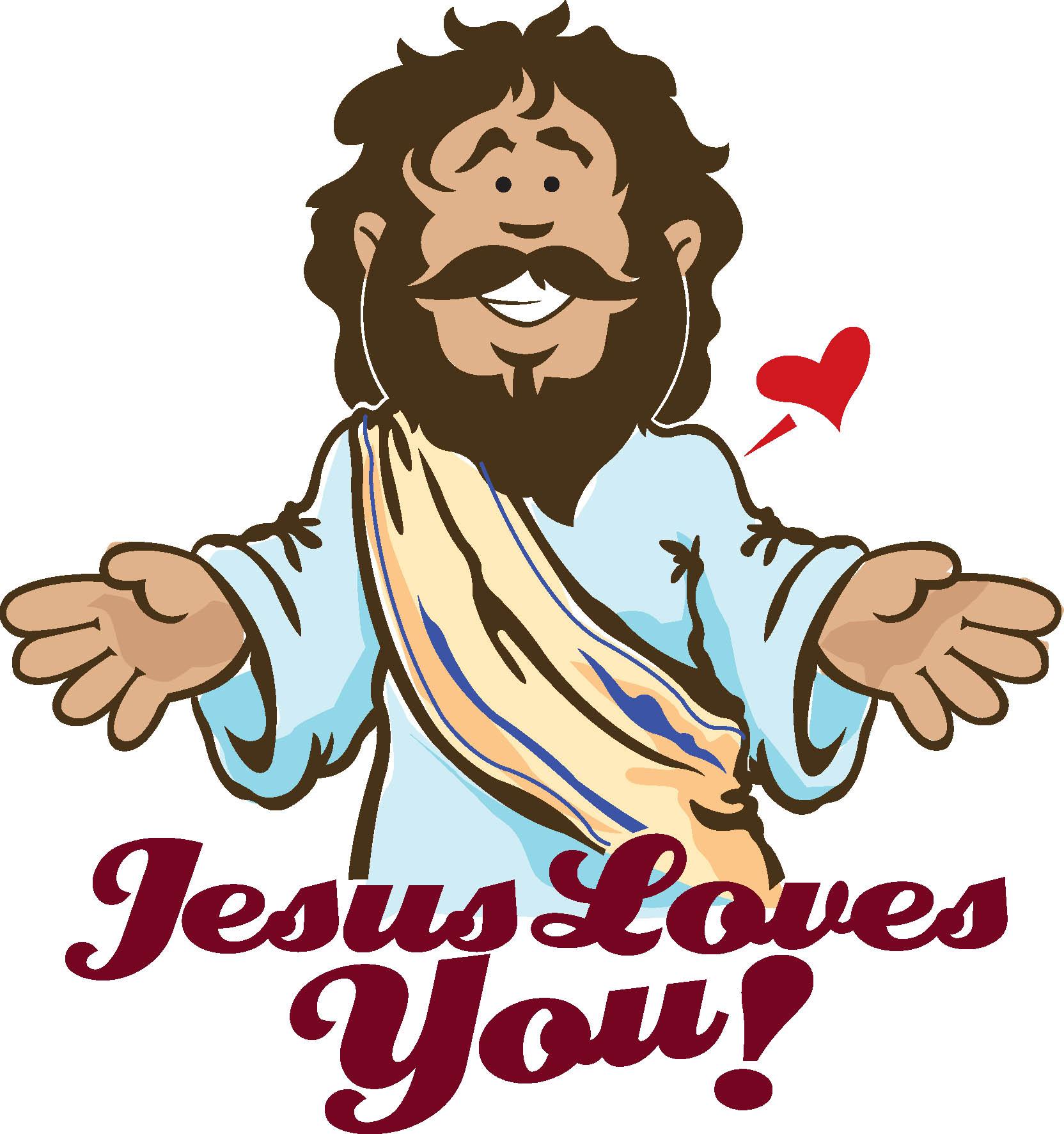 Jesus love clipart free images 2