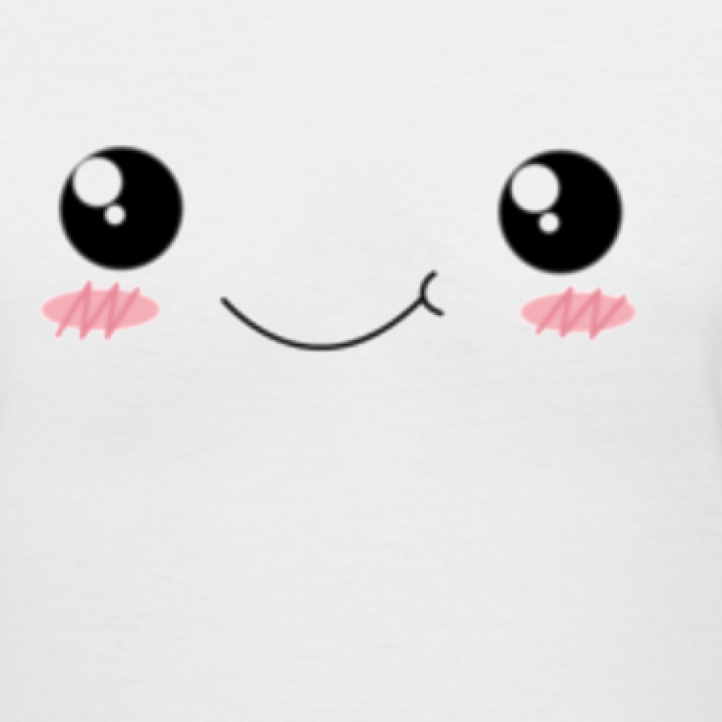 Kawaii eyes clipart faces on