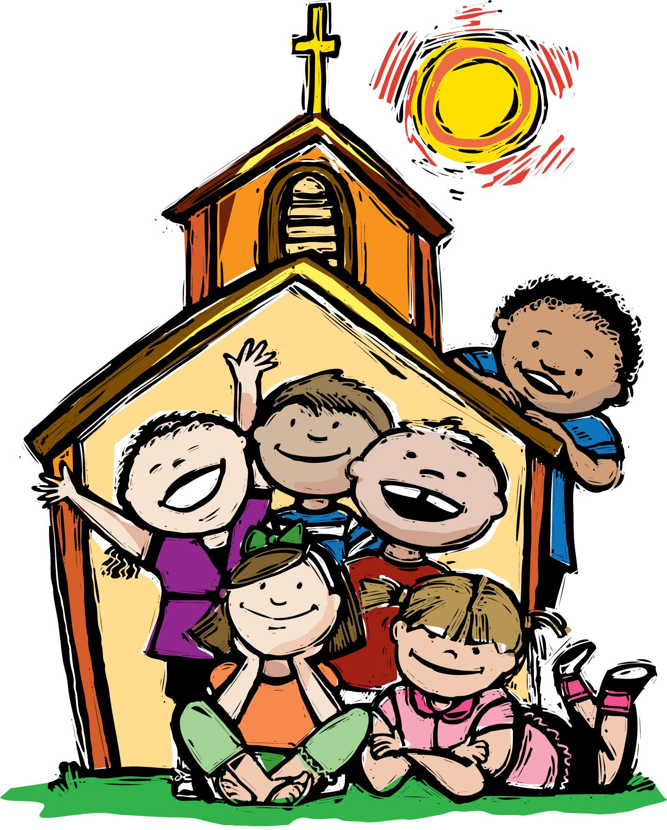 Kids church clip art free clipart images 2