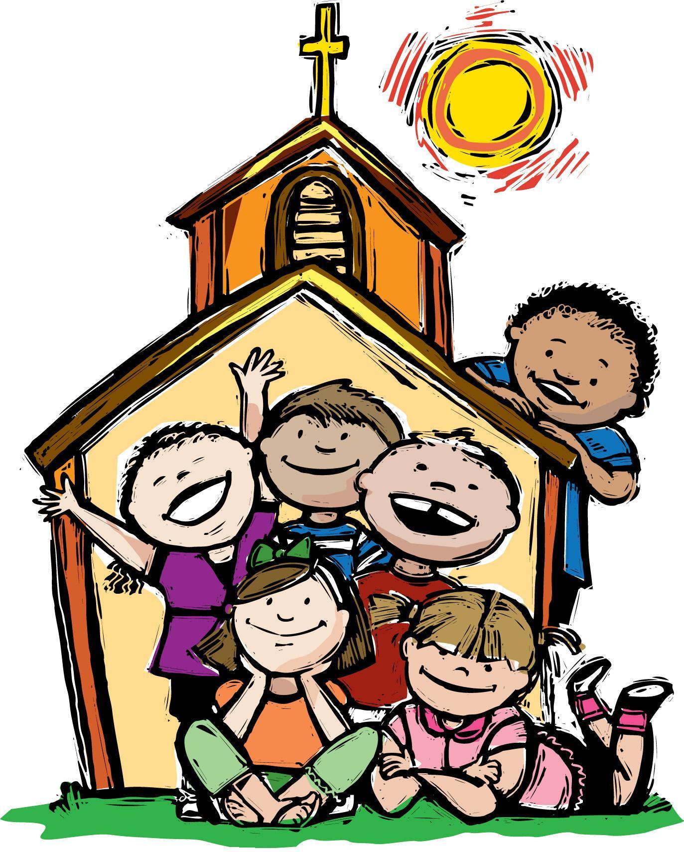 Kids church clip art free clipart images 2