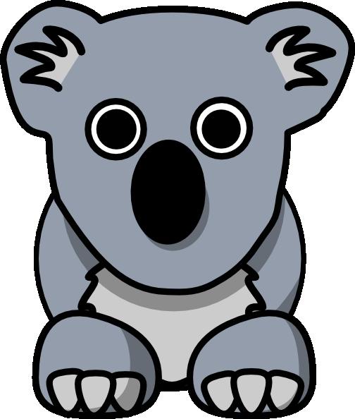 Koala clip art 2