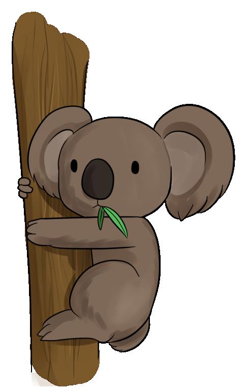 Koala clipart images free 2