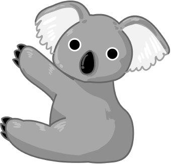 Koala clipart images free