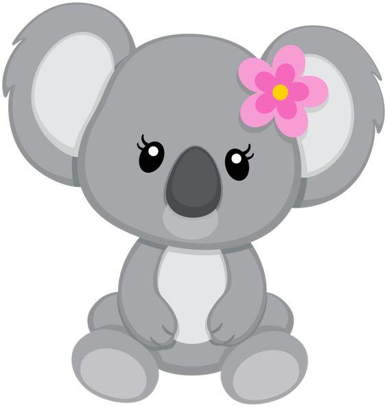 Koala scrappin doodles clip art