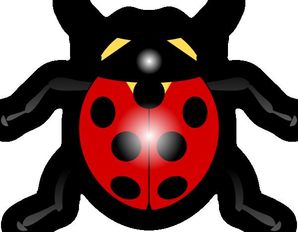 Ladybug outline clipart 11