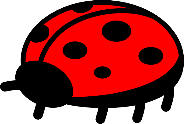 Ladybug outline clipart free images 9