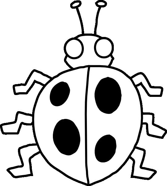 Ladybug outline photos of ladybug spots clip art cute