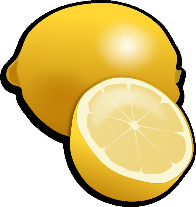Lemon clip art 4 2