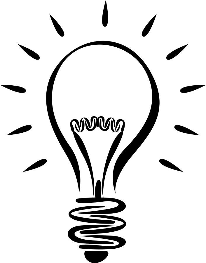Light bulb lightbulb clipart free images 2