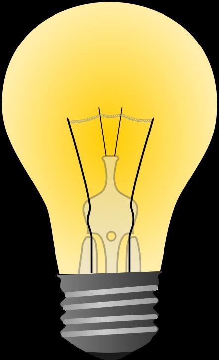 Light bulb lightbulb clipart free images 4