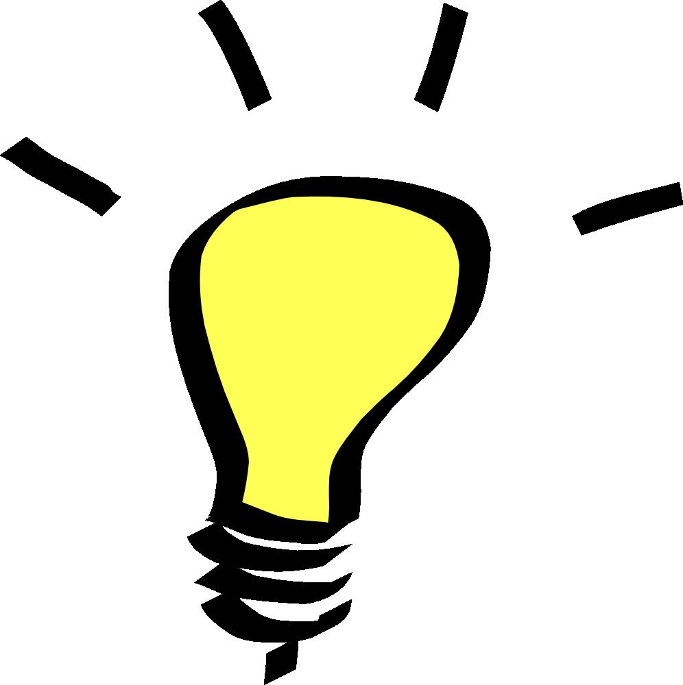 Light bulb lightbulb clipart free images