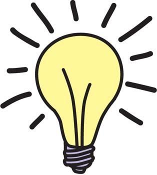 Lightbulb eureka light bulb clipart