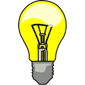 Lightbulb free light bulb clip art 2