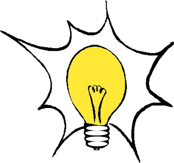 Lightbulb free light bulb clip art pictures 2