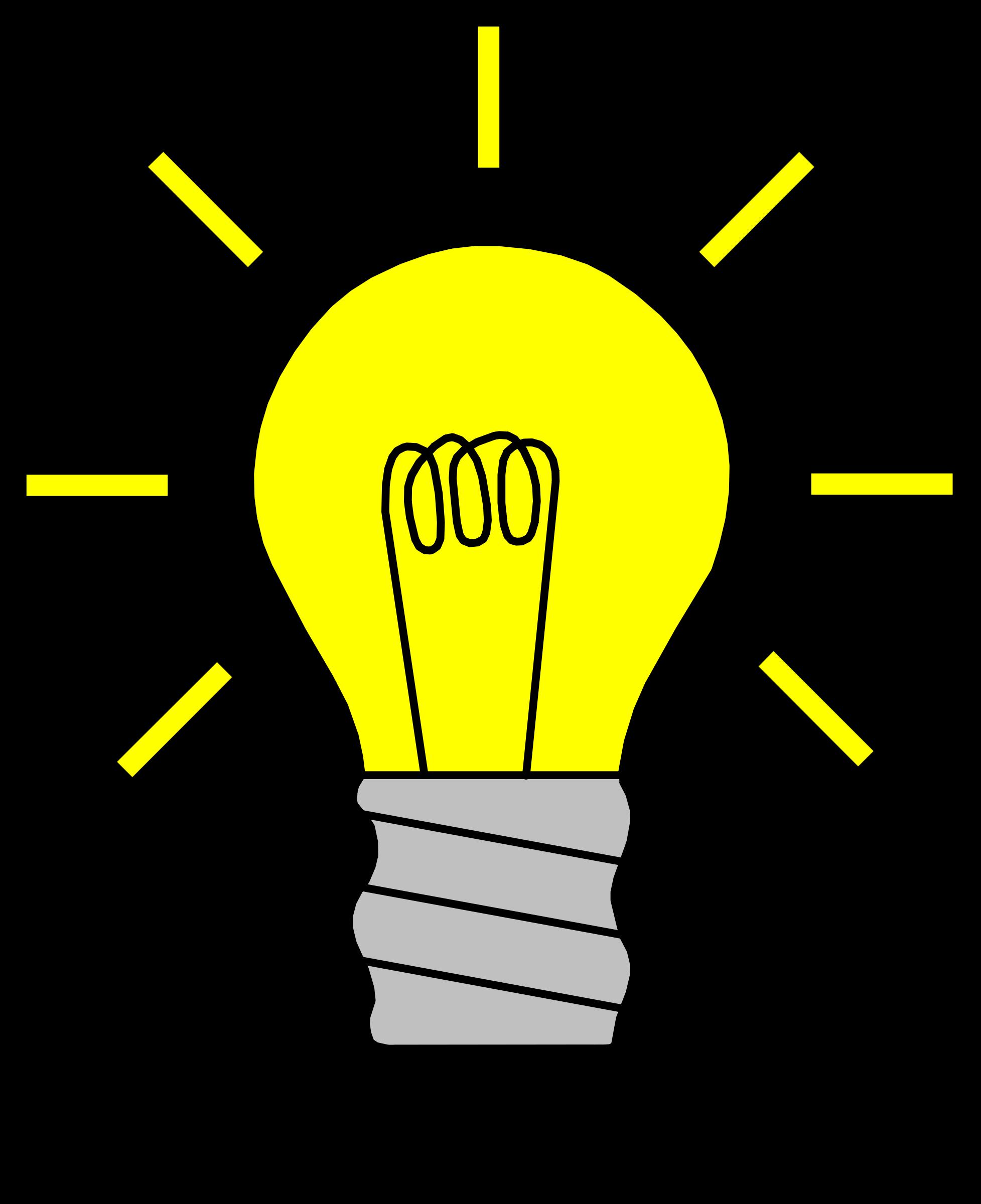 Lightbulb free light bulb clip art pictures