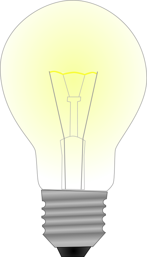 Lightbulb light bulb clip art at vector 2 image 3