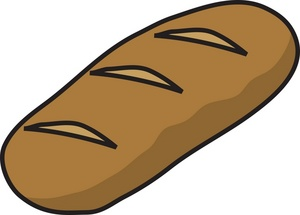 Loaf of bread clipart 2