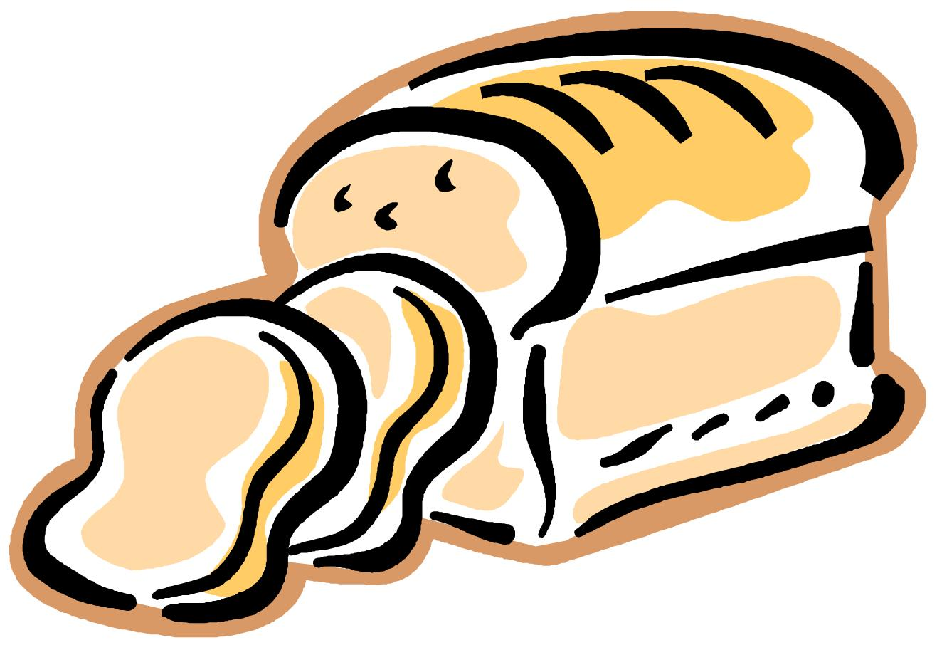 Loaf of bread clipart