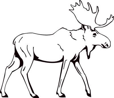 Mascots moose clip art