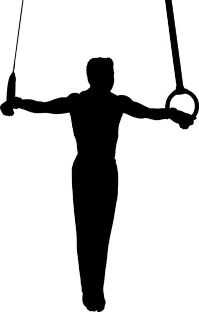 Men gymnastics clipart free images 2
