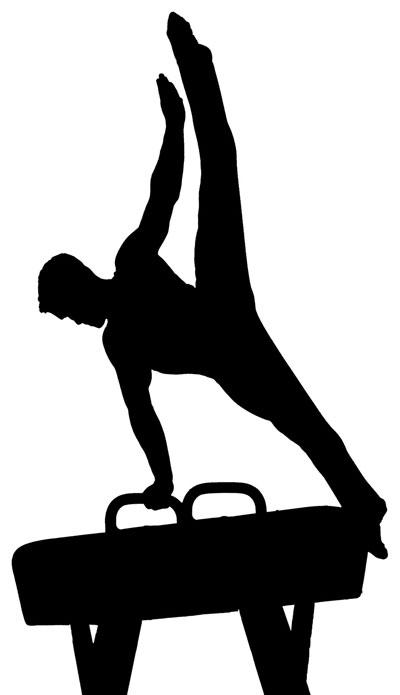 Men gymnastics clipart free images
