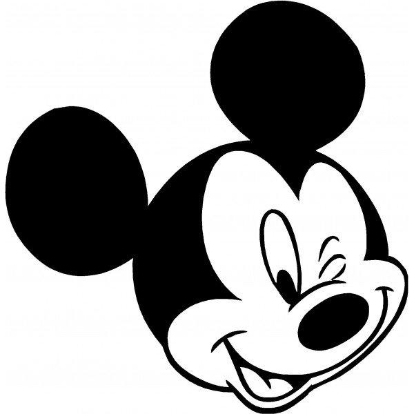 Mickey mouse clip art silhouette free clipart images 4