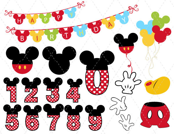 Mickey mouse digital download discoveries for mickey clip art from easypeach