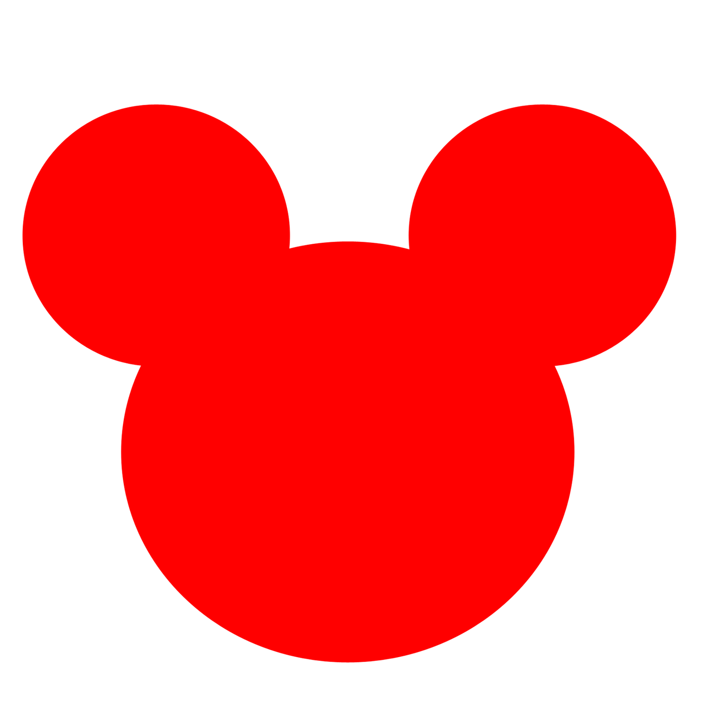 Mickey mouse face clip art free clipart images