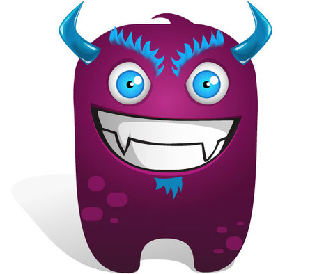 Monster clip art clipart free microsoft 3